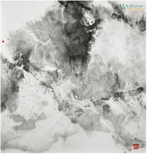 Heaven #2 - The Shangri - La Series - chinese ink on rice paper by artist Sun Guangyi represented by WorldwideArtDealers.com