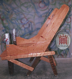 Astaroth's Medi-Evil Chair © by Infernal Dungeon Furniture, Custom Art Furniture
