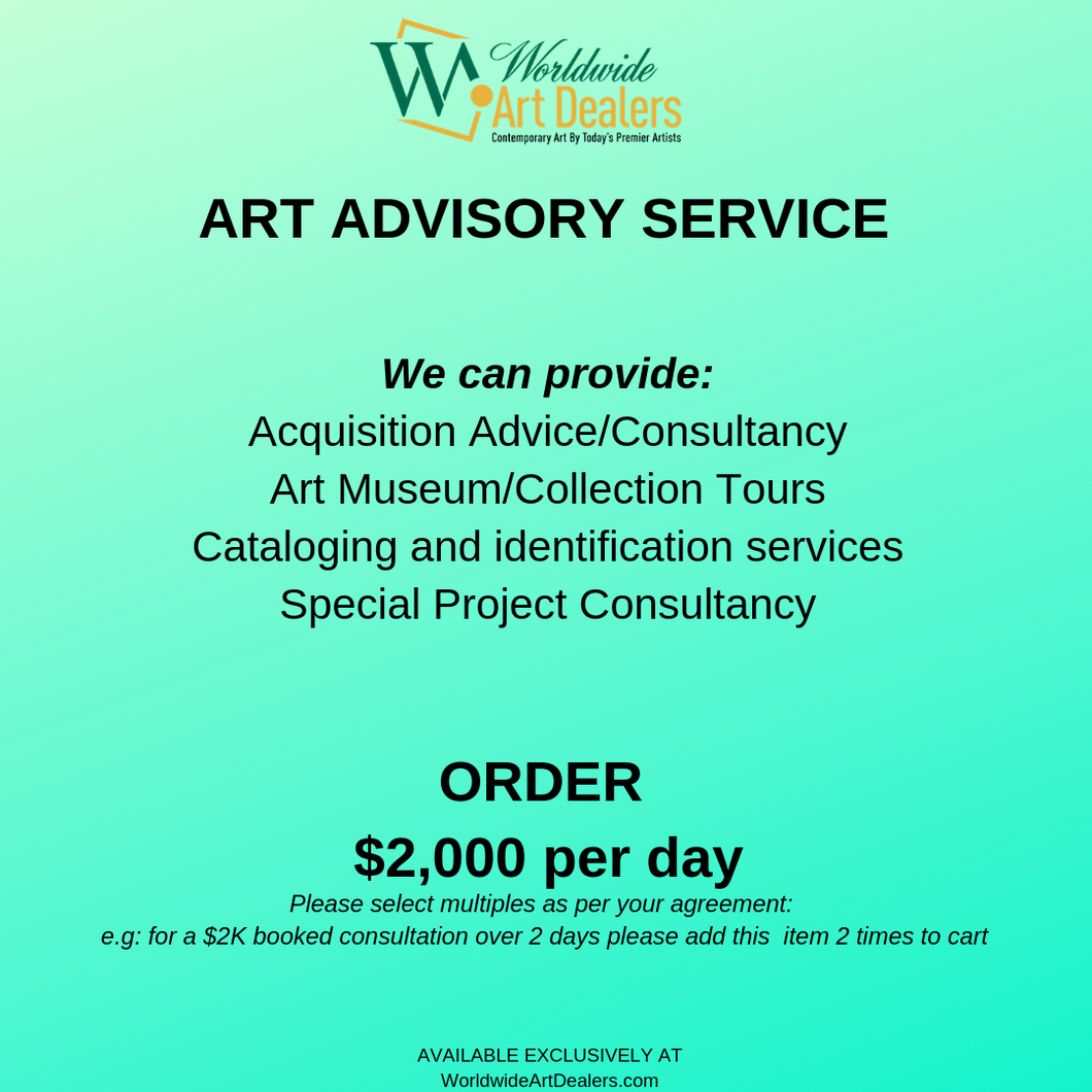 Art Advisory Service : Daily Rate
