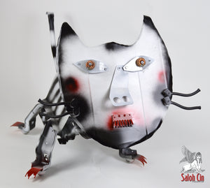 Camellia The Cat - Sculpture by Saloh Cin