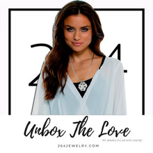 Load image into Gallery viewer, #unbox the love campaign for 264 Jewelry