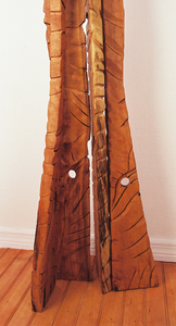 The Catwalk Hardwood Contemporary Sculpture by Nicholas A. Price