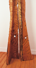 Load image into Gallery viewer, The Catwalk Hardwood Contemporary Sculpture by Nicholas A. Price