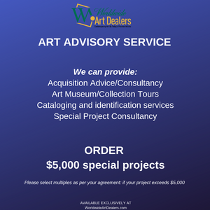 Art Advisory Service : Special Projects