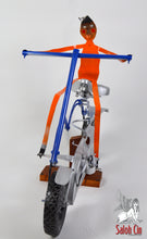 Load image into Gallery viewer, Easy Rider - Motor Bike Sculpture by Saloh Cin