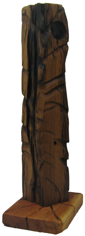 African inspired contemporary wood sculptures by Nicholas Price