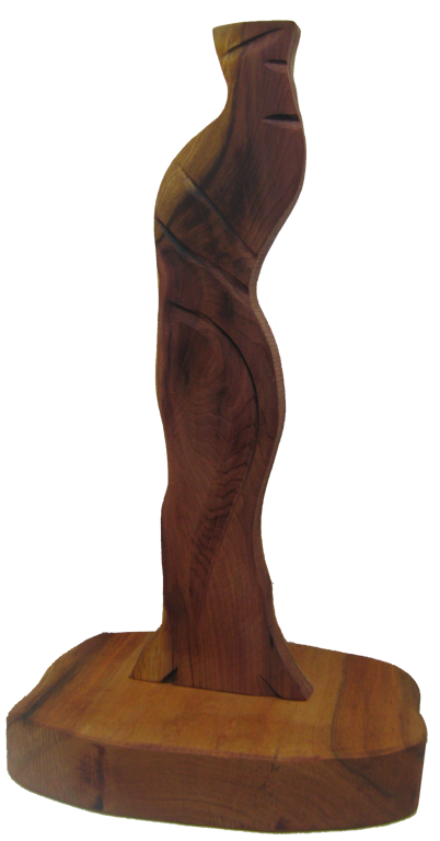 Hardwood Sculpture: Cedar #13SMCED-2986