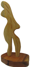 Load image into Gallery viewer, Nicholas Price hardwood cedar, people sculpture, African art