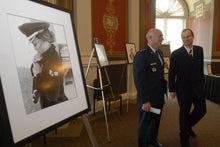 Nicholas Price and General Carrol H. Howie Chandler Joint Vice Chief of Staff of the USAF Cleared Hot collection @ the LOC