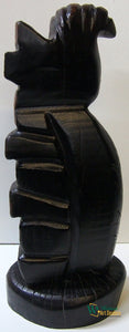 Oldwy Wood Sculpture by Croatian artist Vladimir Ivanković available exclusively from WorldwideArtDealers.com