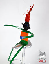 Load image into Gallery viewer, One Man Band - Unicycle Sculpture by Saloh Cin