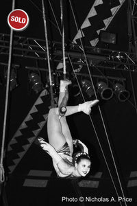 SOLD HIGH WIRE TRAPEZE by Nicholas A. Price, 11 x 14 RC Glossy Print