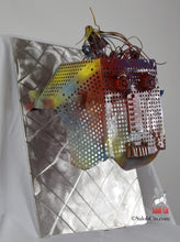 Load image into Gallery viewer, Mister Faraday - Robot Wall Sculpture by Saloh Cin