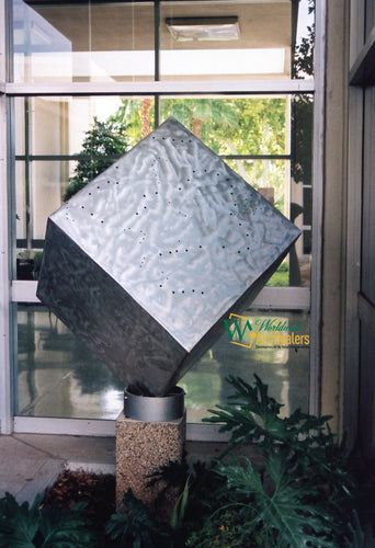 Art for sale, Sculpture The Cube© Nicholas A. Price exclusively on WorldwideArtDealers.com