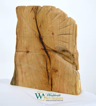 "Load image into Gallery viewer, ""The Guard"" Red Oak Sculpture by Nicholas A. Price from the Wood Spirits Collection"