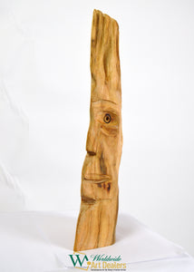 """The Lookout"" Sculpture by Nicholas A. Price from the Wood Spirits Collection"