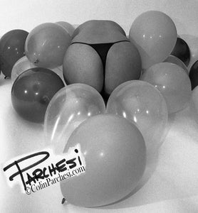 Parchesi Limited Edition Fine Art Black and White Photograph Balloons
