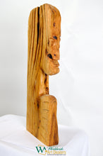 "Load image into Gallery viewer, ""The Sage"" Sculpture by Nicholas A. Price from the Wood Spirits Collection"