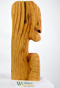 """The Sage"" Sculpture by Nicholas A. Price from the Wood Spirits Collection"