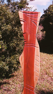 The Princess Hardwood Contemporary Sculpture by Nicholas A. Price