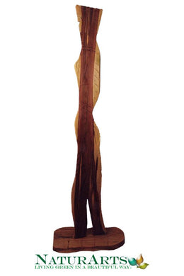 The Princess Hardwood Sculpture by Nicholas A. Price