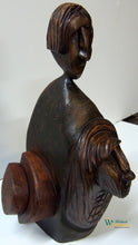 Twins Sculpture by Croatian artist Vladimir Ivanković available exclusively from WorldwideArtDealers.com