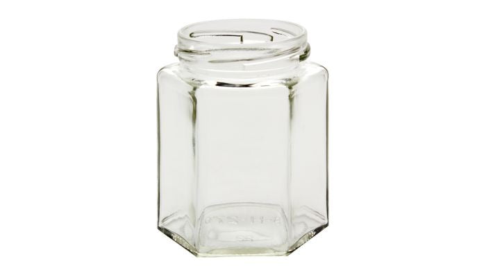 9 oz Hexagon Jar