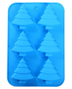 Tree soap mold silicone