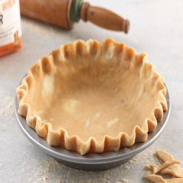 Fresh Baked Pie Crust (PEAK)