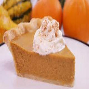Sweet Vanilla Pumpkin Pie