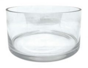 Large Candle Bowl – Clear