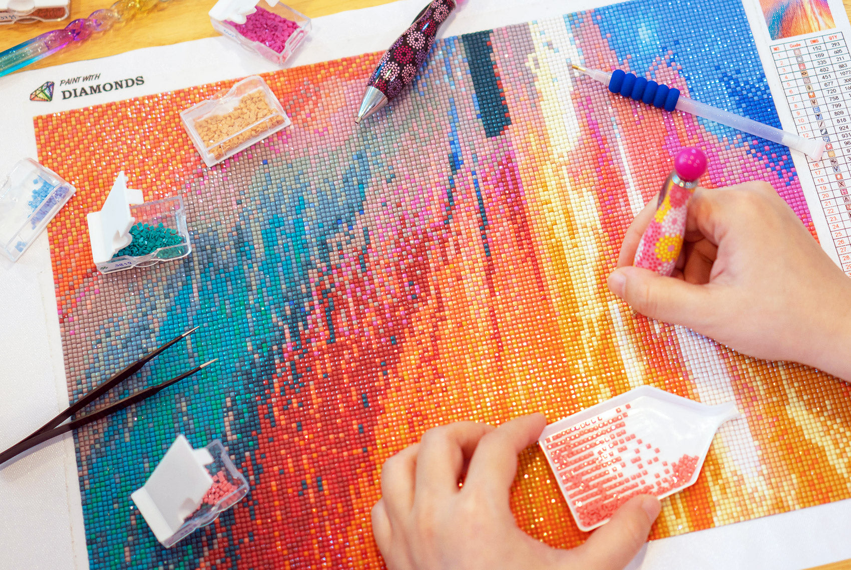 5 Reasons You Should Try Diamond Painting for National Craft Month