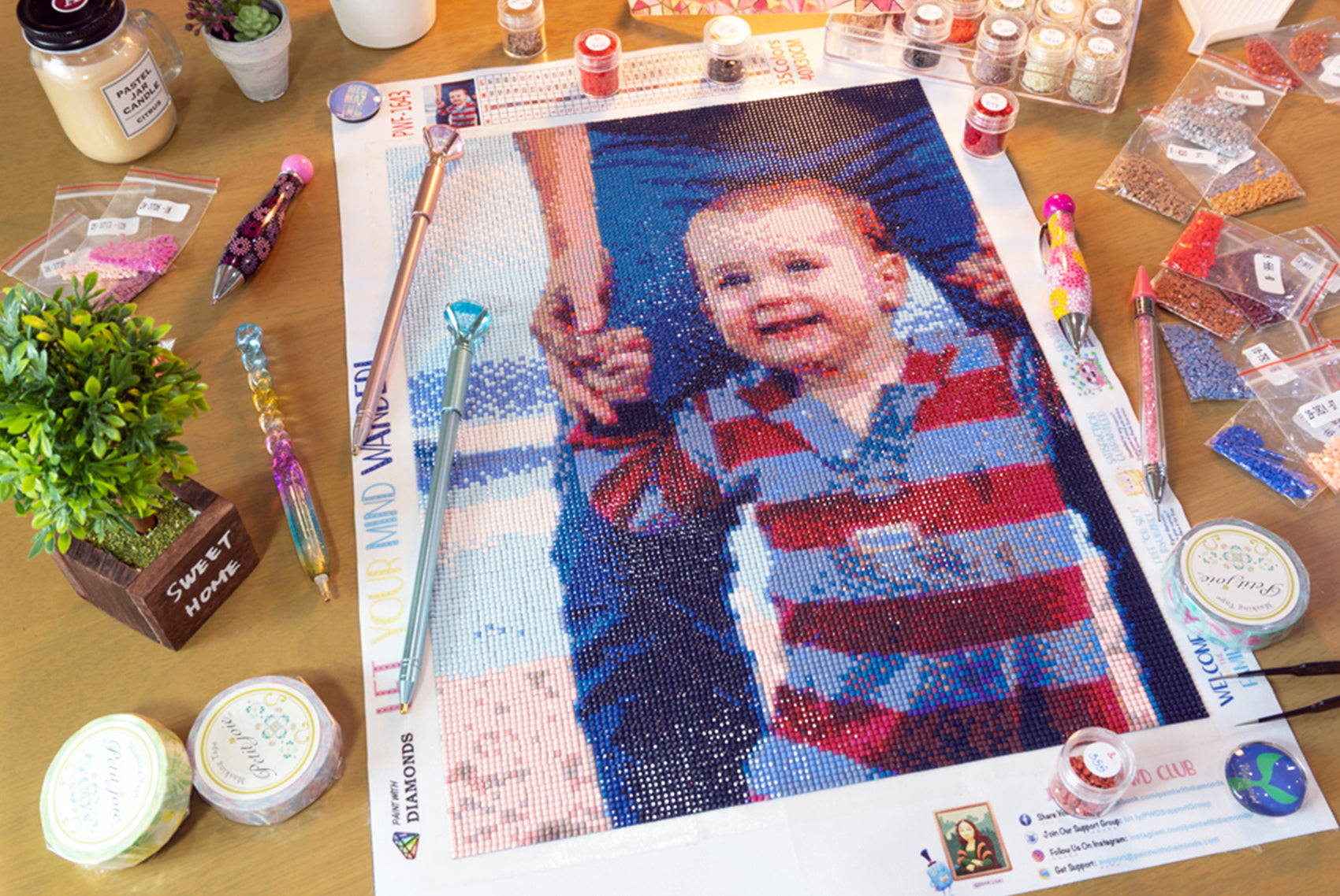 10 Reasons Diamond Painting Is The Perfect Hobby for Moms
