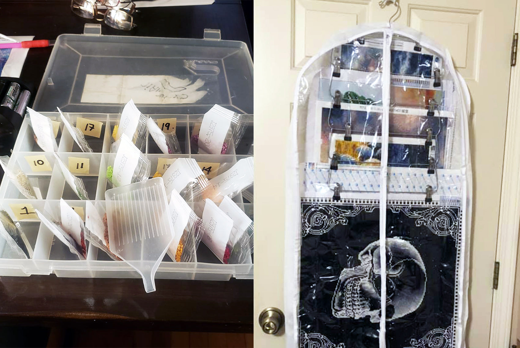 7 More Awesome Diamond Painting Storage Hacks