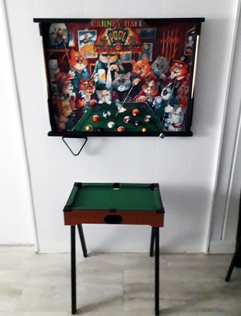 Cats Playing Poker Diamond Painting With Poker Table