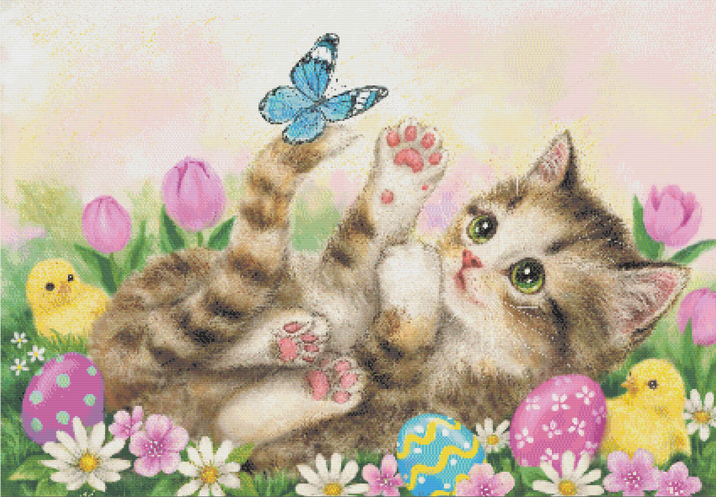 Kitten Diamond Painting