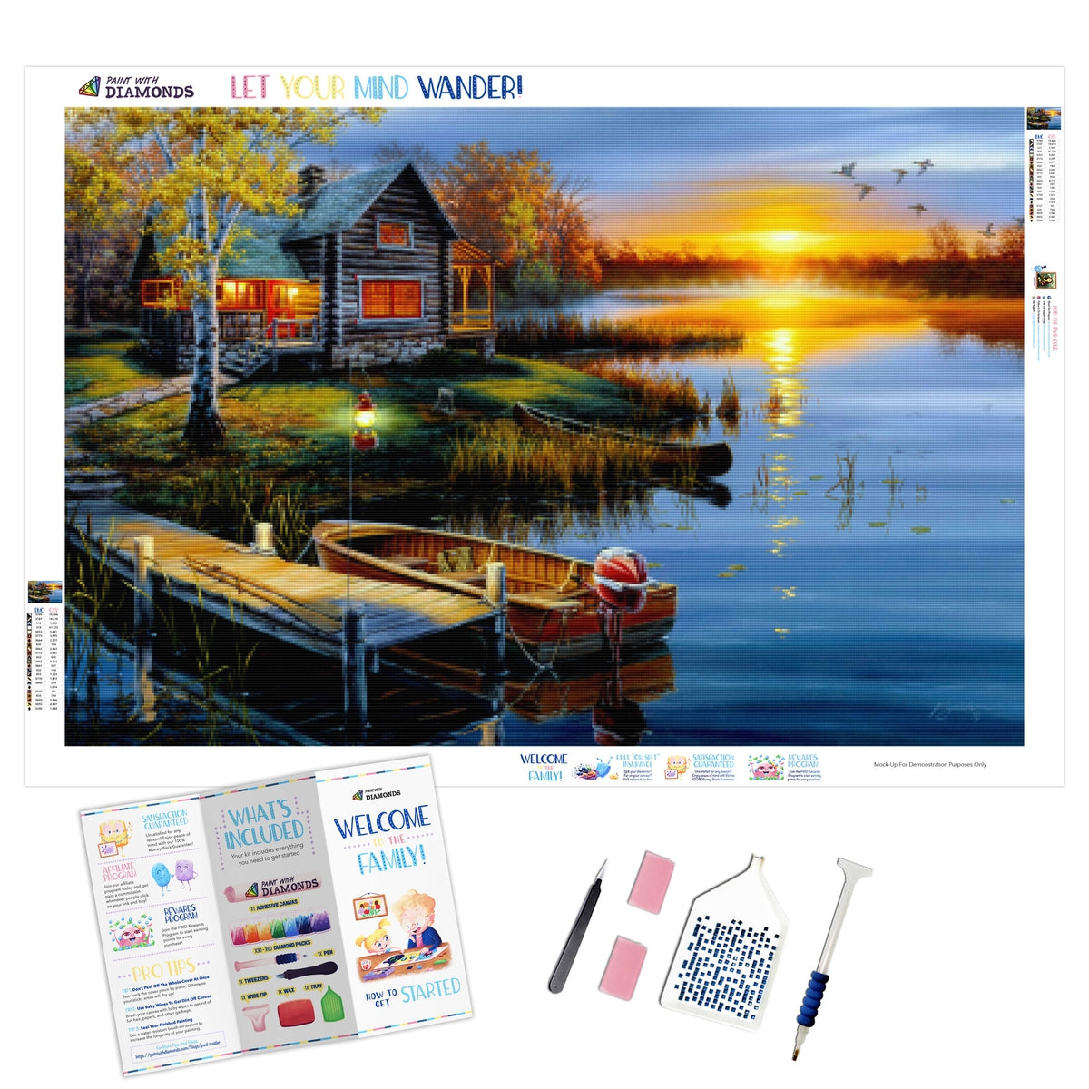 Autumn At The Lake (2-4 Day Shipping)
