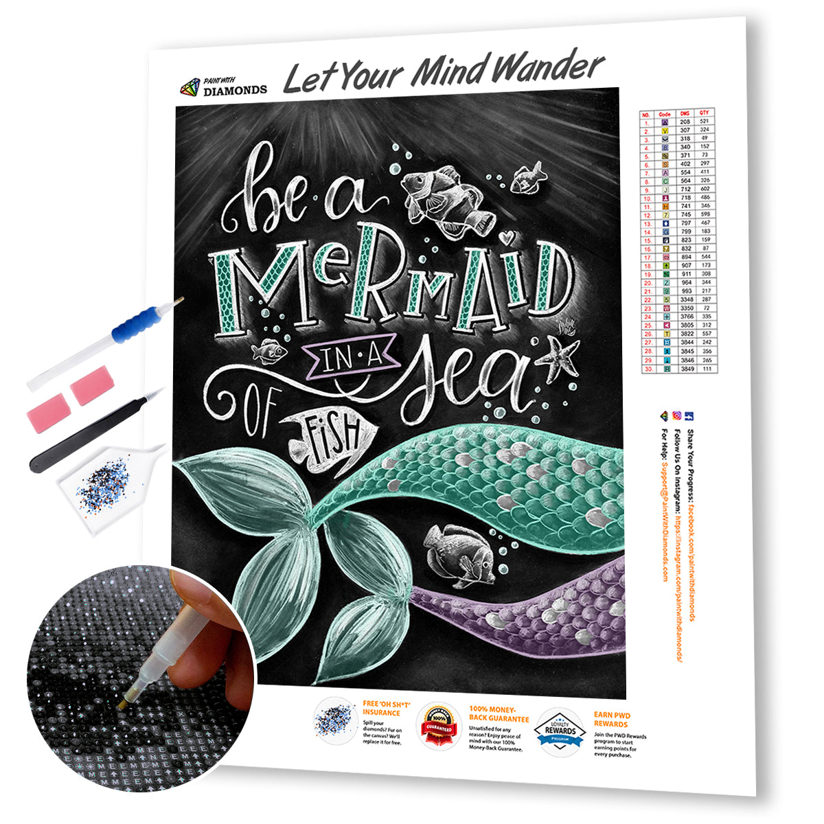 Be A Mermaid In A Sea Of Fish 2