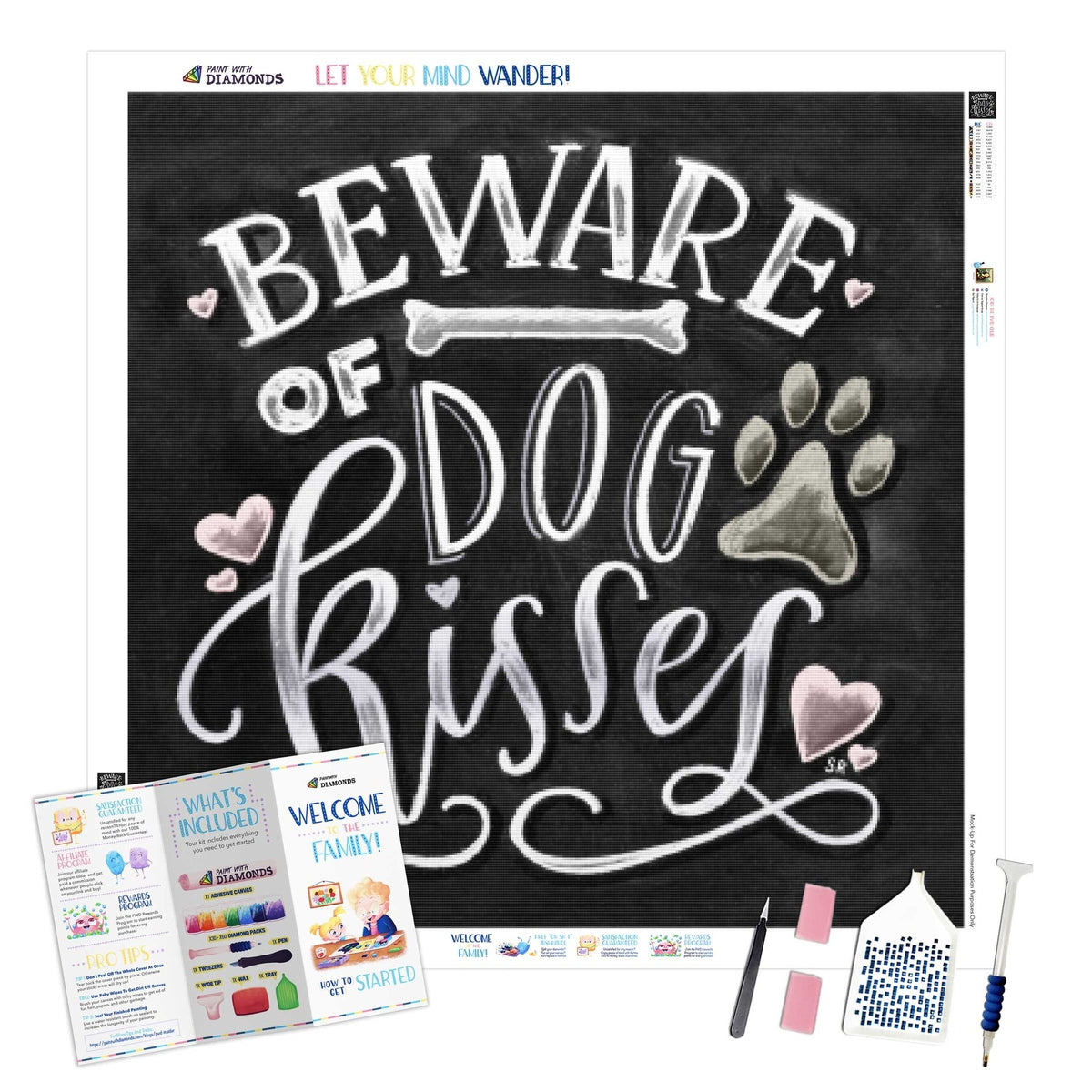 Beware Of Dog Kisses - Ships From US