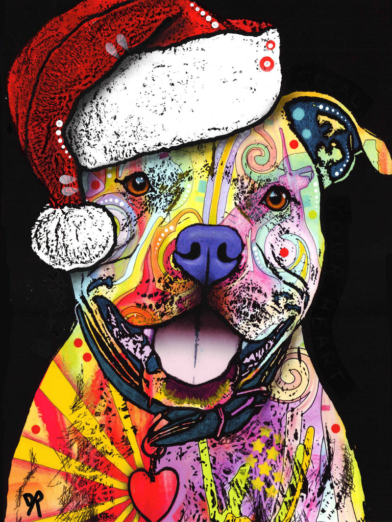 Beware of Pit Bulls Christmas