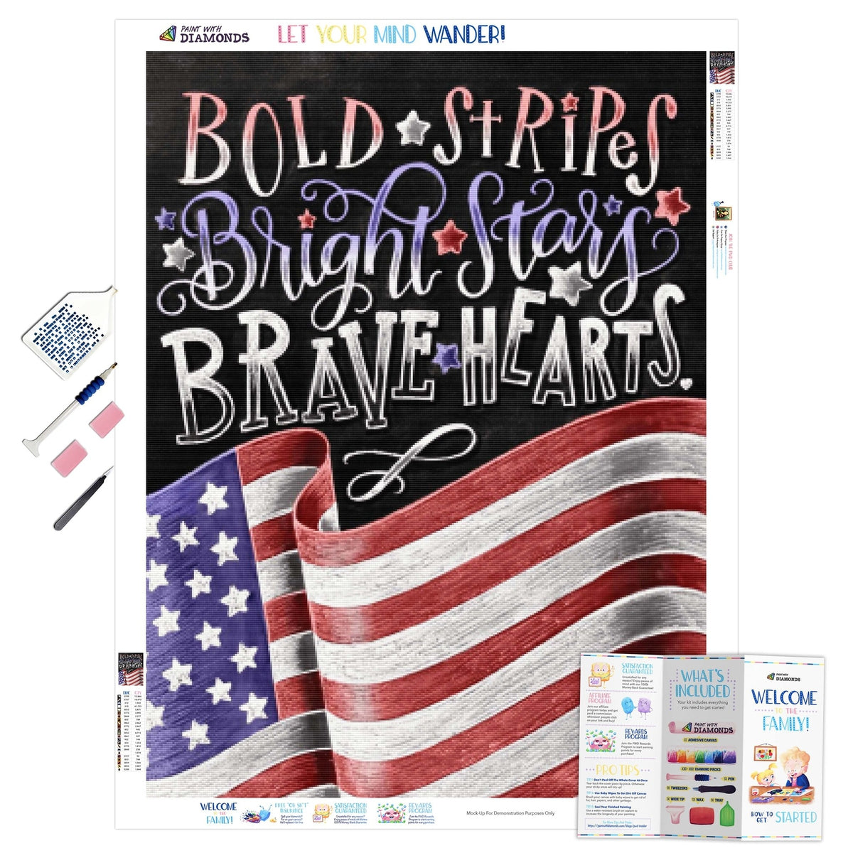 Bold Stripes Bright Stars