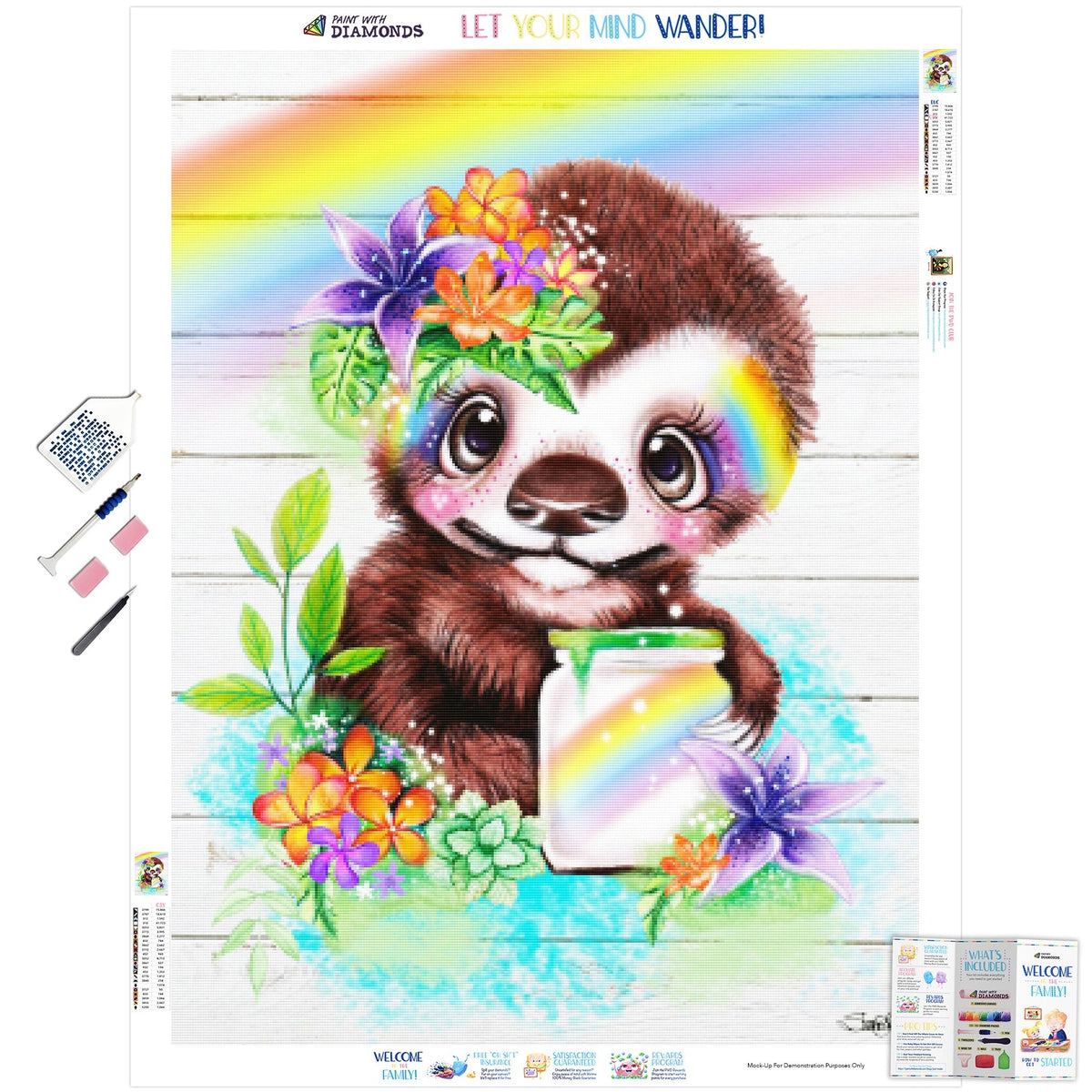 Catching Rainbows Sloth