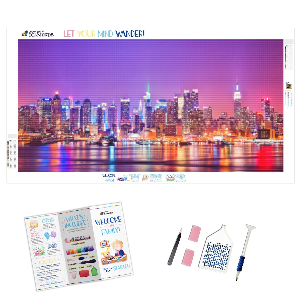 Colorful Skyline (2-4 Day Shipping)