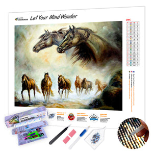 Equestrian Horse Painting