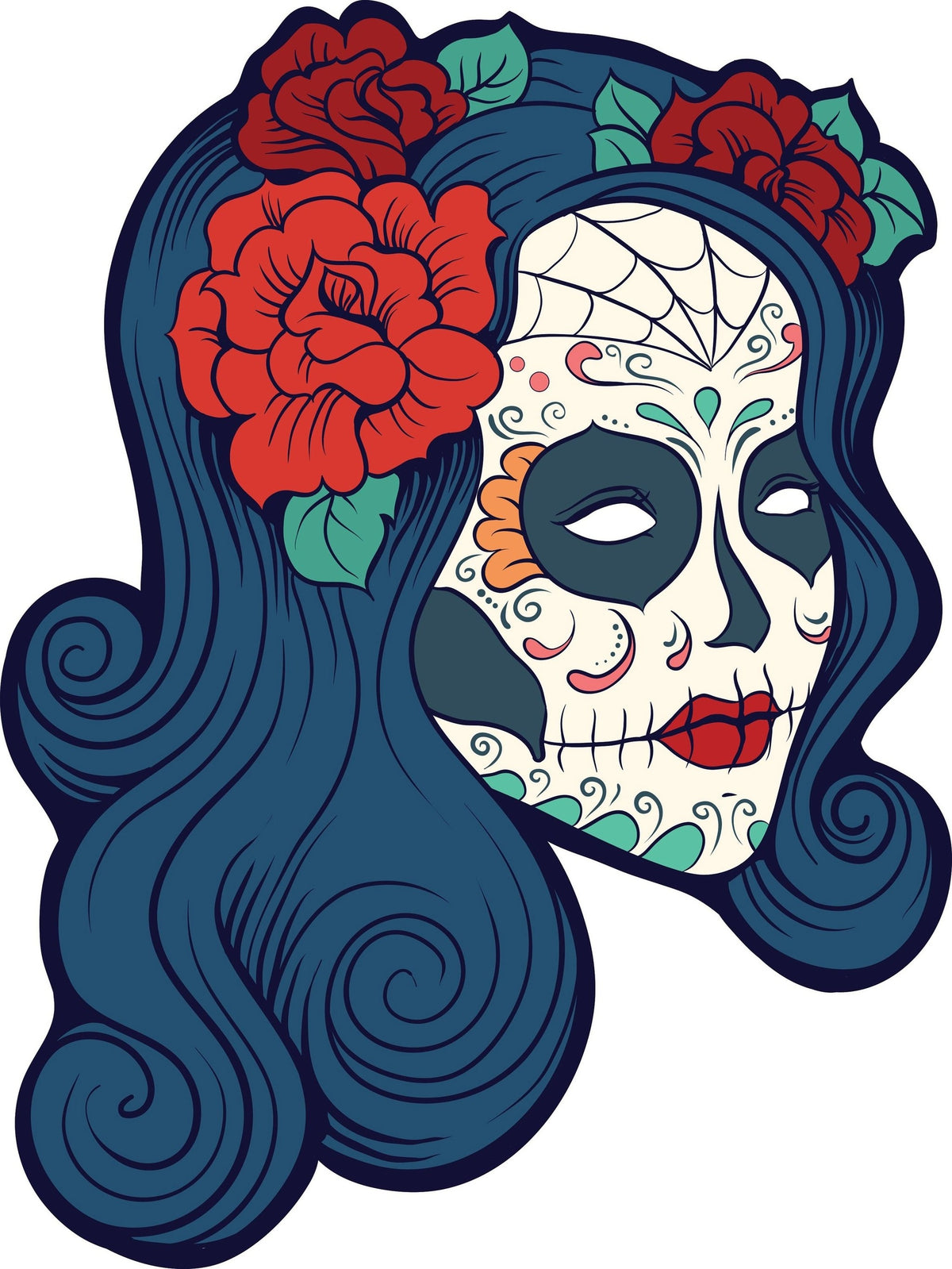 Female Sugar Skull