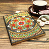 Red Floral Mandala Diamond Painting Journal