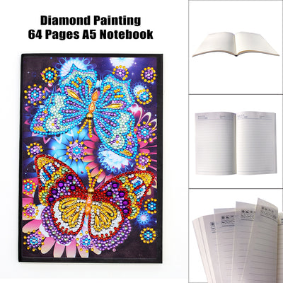 Butterfly Romance Diamond Painting Journal