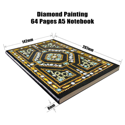 Gold Labyrinth Diamond Painting Journal