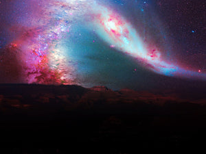 Pink Explosion In The Cosmos
