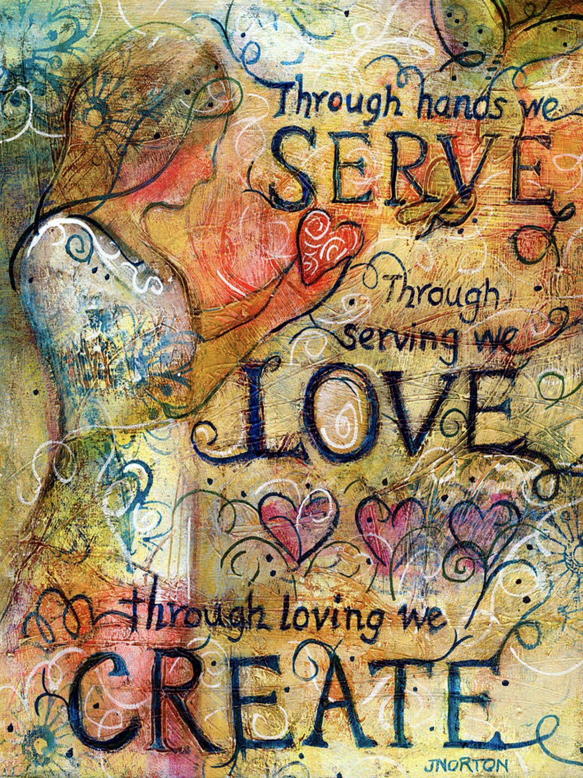 Serve Love Create
